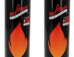 Belflam - 2 cargadores de gas para encendedores y sopletes de cocina, 300 ml
