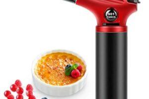 RenFox - Soplete de Cocina Recargable Profesional